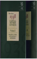 Barcelona, 1938. Capital de tres governs. 2 vols.