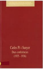 Dues conferències (1935-1936)