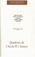 3. Des dels camps. Cartes de refugiats i internats al migdia francès l'any 1939