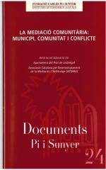 24. La mediació comunitària: municipi, comunitat i conflicte