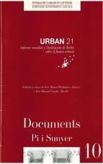 10. Urban 21. Informe mundial y declaración de Berlín sobre el futuro urbano