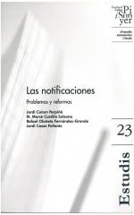 23. Las notificaciones. Problemas y reformas