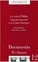 12. La gestión pública intergubernamental en la Unión Europea