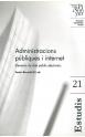 21. Administracions públiques i internet