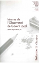 Informe de l'Observatori de Govern Local