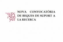 Convocatoria de 1 beca de colaboración de apoyo a la investigación