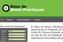 Convocatoria específica para la concesión de becas para apoyar la investigación en la Fundació Carles Pi i Sunyer para el Banco de buenas prácticas