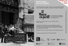 Inauguración de la exposición El Museu en perill! Museu Nacioal d'Art de Catalunya, 14 Julio, 19h