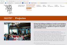Convocatoria de 2 becas de colaboración en apoyo a la investigacion para el Panel de Políticas Públicas de la Fundació Carles Pi i Sunyer